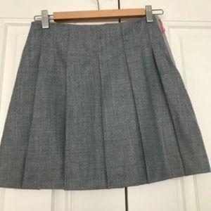 Crewcuts Pleated Wool Flannel school skirt 12